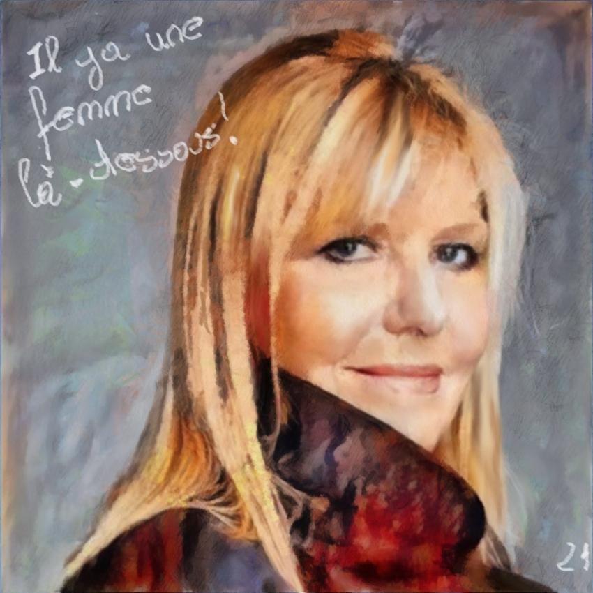 Chantal Ladesou by baudet
